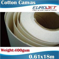 Blank Canvas/Artists Canvas/Cotton Canvas/Printable Canvas Rolls 0.61x18M