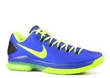 New Men's Nike KD V Elite Superhero Hyper Blue Volt Size 13 585386 400