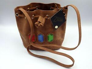 NINTENDO officiel Zelda-Little roupies Bag Brown Rare sac à main ZELDA  NEUF