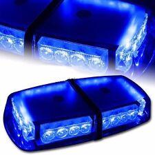 24 LED Mini LED Emergency Warning Lightbar Blue Light bar Beacon Lighting