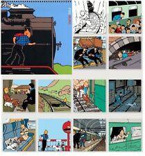 EO HERGE + TINTIN : MINI CALENDRIER POUR 2012 ( NEUF SOUS BLISTER )