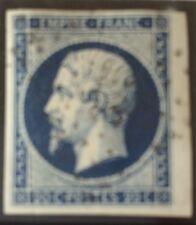 France n°14b 20 c bleu noir obli B d f TTB côté 40€