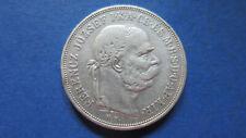 Österreich-Ungarn Silber 5 Korona 1900 in s-ss (4164)
