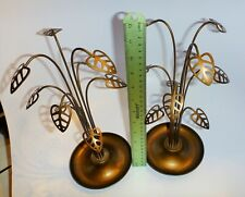 Metal leaf design Rings, Pendants, and earring Jewelry displays