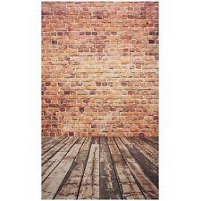 Photography Background Studio Photo Props Backdrop 3X5FT Wood Grain Brick 3 O5M3