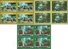 71 Years of Independence -BLOCK OF 4- (MNH)