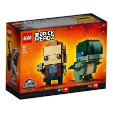 LEGO Jurassic World BrickHeadz 41614 Velociraptor Doppelpack Owen und Blue N6/18