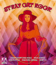 Stray Cat Rock: The Collection Blu-Ray/DVD NEW Arrow 5-Discs REGION FREE