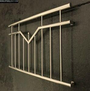 BGM-009 Edelstahl Fenstergitter Geländer Absturzsicherung französischer Balkon