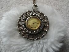 Up Necklace Pendant Watch Louvic 17 Jewels Wind