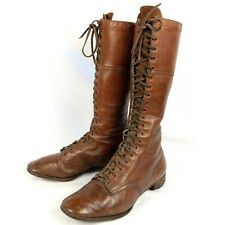 1920s Vintage Lace Up Ladies Field Boots