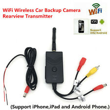 WiFi Wireless Car Backup Camera Realtime Video Transmitter for IOS Android 903W