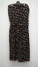 Black Multi Coloured Spotted Strapless Sundress from Indulgenece size Small