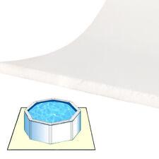 Tappeto materassino morbido da fondo 5,50 x 4 m per piscina fuoriterra