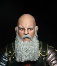 HEAD ONLY Mythic Legion Four Horsemen Custom Painted Barbarian HEAD ONLY old