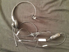 Plantronics VOIP noise cancelling Headset with GN1200 Switch cord curly wire