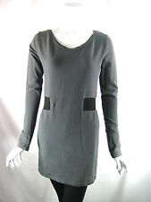 291 FROM VENICE Size 2 Gray Long Sleeve Tunic Dress