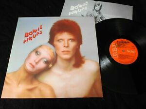 DAVID BOWIE/PINUPS/INSERT/RCA VICTOR RS 1003/FRENCH PRESS ORIGINAL 1973