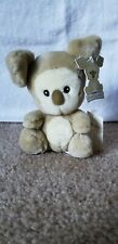 "Neopets Brown Harris Plushie Koala 6"" 2003 Stuffed Animal Thinkway Toys"