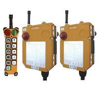 F24-10D Industrial Remote Control Electric Chain Hoist Crane Controller(1+2)
