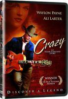 Crazy - The Hank Garland Story (DVD) Waylon Payne, Ali Larter NEW
