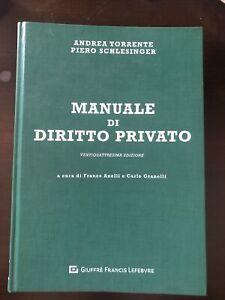 Manuale di Diritto Privato XXIV edizione - A. Torrente P. Schlesinger