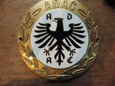 ADAC 90mm Emaille Plakette Badge email Plaque émaillée Placca Enamel plaque