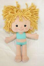 "Playskool DRESSY DAISY 14"" Plush Doll Toy stuffed Swimsuit Blonde"