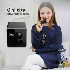 Mini 1080P Full HD LED Projector DLP WL-P1 Portable Home Movie Theater NNNL