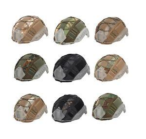 Tactical Airsoft FAST Ballistic Helmet Cover, Multi cam, AOR1,ATACS,M81, Digital