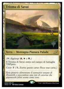 MTG - Trioma di Savai - Savai Triome - (NM) Ikoria Behemoths PROMO IT #NSF3