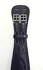 Bobby's Leather Contour Dressage Girth-Black-30""