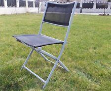 Klappstuhl Gartenstuhl Stuhl Gartenmöbel Stahl Faltstuhl Campingstuhl S2