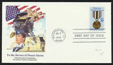 #2551 29c Desert Storm & Shield, Fleetwood-Air Force FDC **ANY 4=FREE SHIPPING**