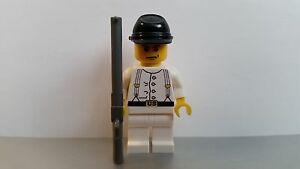 100pcs Minifigures lego MOC The North American Civil Soldiers Blue Weapon Brown