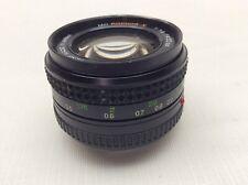 Minolta MD Rokkor-X 50mm F/1.4 lens (U456155)