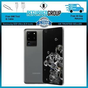 Samsung Galaxy S20 Ultra 5G Grey Dual SIM 128GB Excellent Grade A