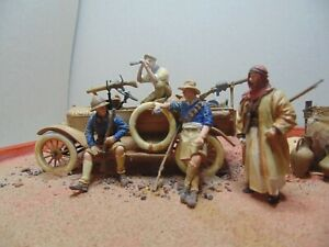 MADE 1/35 WW1 model T ford at a watering hole plastic model kit