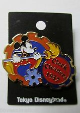 Disney Mickey Mouse Clock Cleaners 1937 Tokyo Japan Disneyland Pin