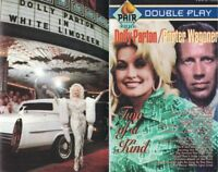 White Limozeen & Two of a Kind Dolly Parton Porter Wagner Music Cassette Tape