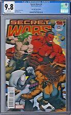 SECRET WARS (2015) # 4 Mile High Comics Variant Cover CGC 9.8