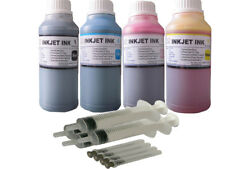 Bulk refill ink kit for Epson 802 T802 WorkForce Pro WF-4720 WF-4730 4X250ML