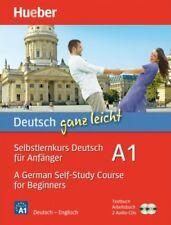 Hueber. deutsch ganz leicht. Anfänger-Sprachkurs. Englische Ausgabe