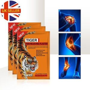 TIGER Pain Relieving Patches For Relief of Aches of Muscles Arthritis Strains
