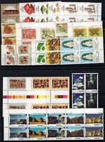 P125728/ AUSTRALIA STAMPS / 1981 - 1984 LOT OF BLOCK OF 4 / MNH** CV 110 $