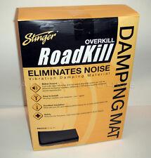 "Automotive Car Door Foam Sound Damping 12ft² Adhesive Back Noise Reduction .25"""