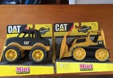 2 CAT  Mini Tractor Truck by Equipped to Play Mini CAT Trucks And Bull Dowzer