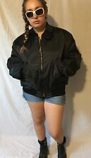 Men's Bomber Black JACKET BY KNOX ARMORY  SIZE LARGE NEW $225
