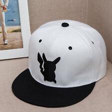 Pokemon Go Pikachu Embroidery Snapback Adjustable Unisex Hiphop Baseball Cap Hat