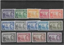 "ST HELENA 1938 ""BADGE OF ST HELENA"" {SHIPS} SET SG.131-140 LIGHTLY MOUNTED MINT"
